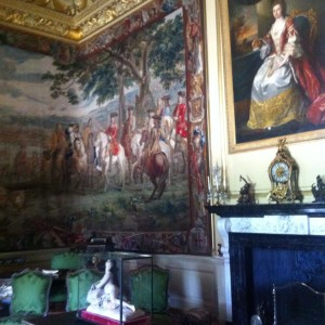 Inside Blenheim Palace
