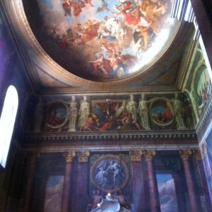 Ceiling Painting Blenheim Palace