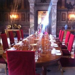 Blenheim Palace Dining Room
