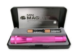 Pink Travel Maglite