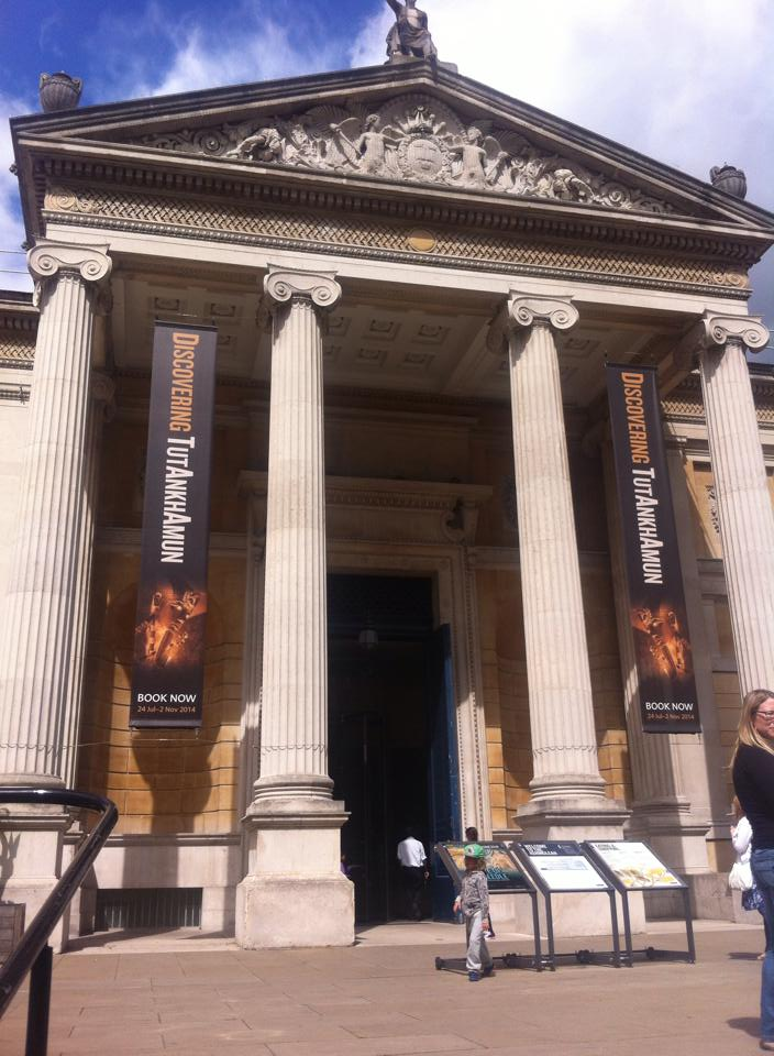 Ashmolean Museum, Oxford Photo Credit: Amy Trumpeter