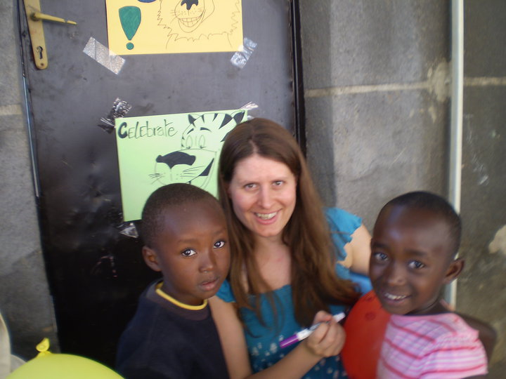 Volunteer in developing countries