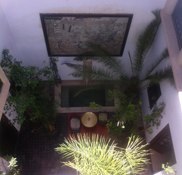 Riad Dar Zaman Courtyard