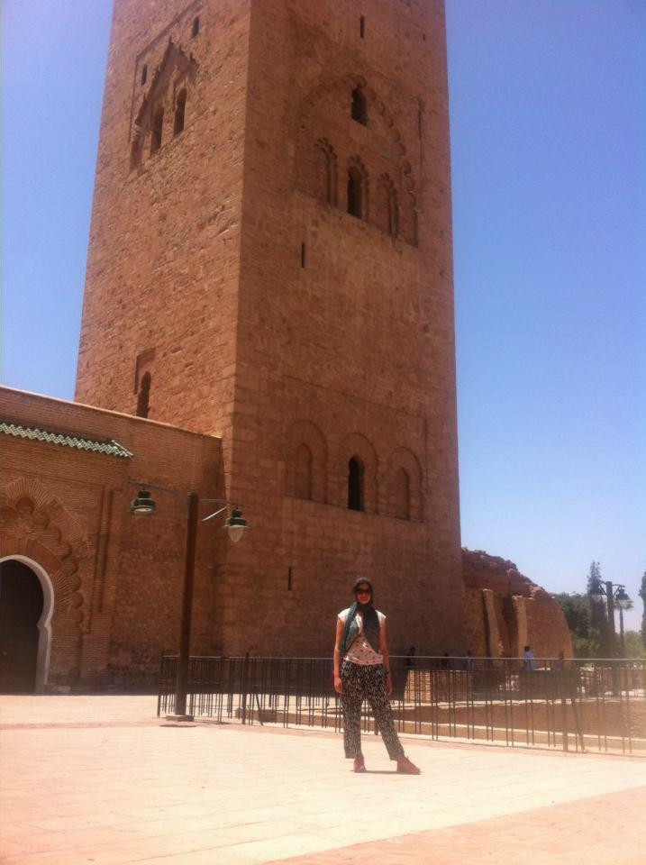 Koutoubia Mosque Solo Travel