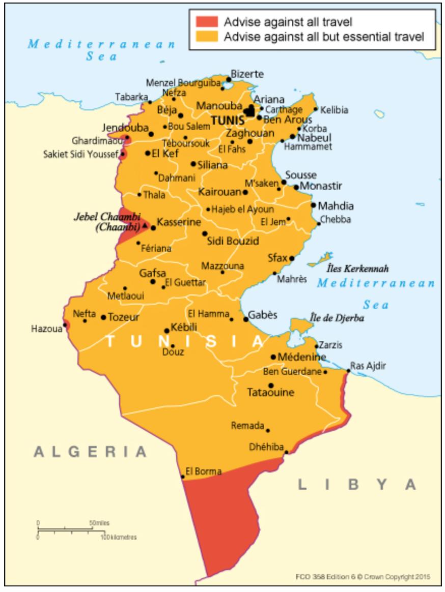 Travel Advice Tunisia