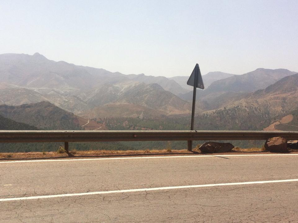 Atlas Mountains Tichka Pass