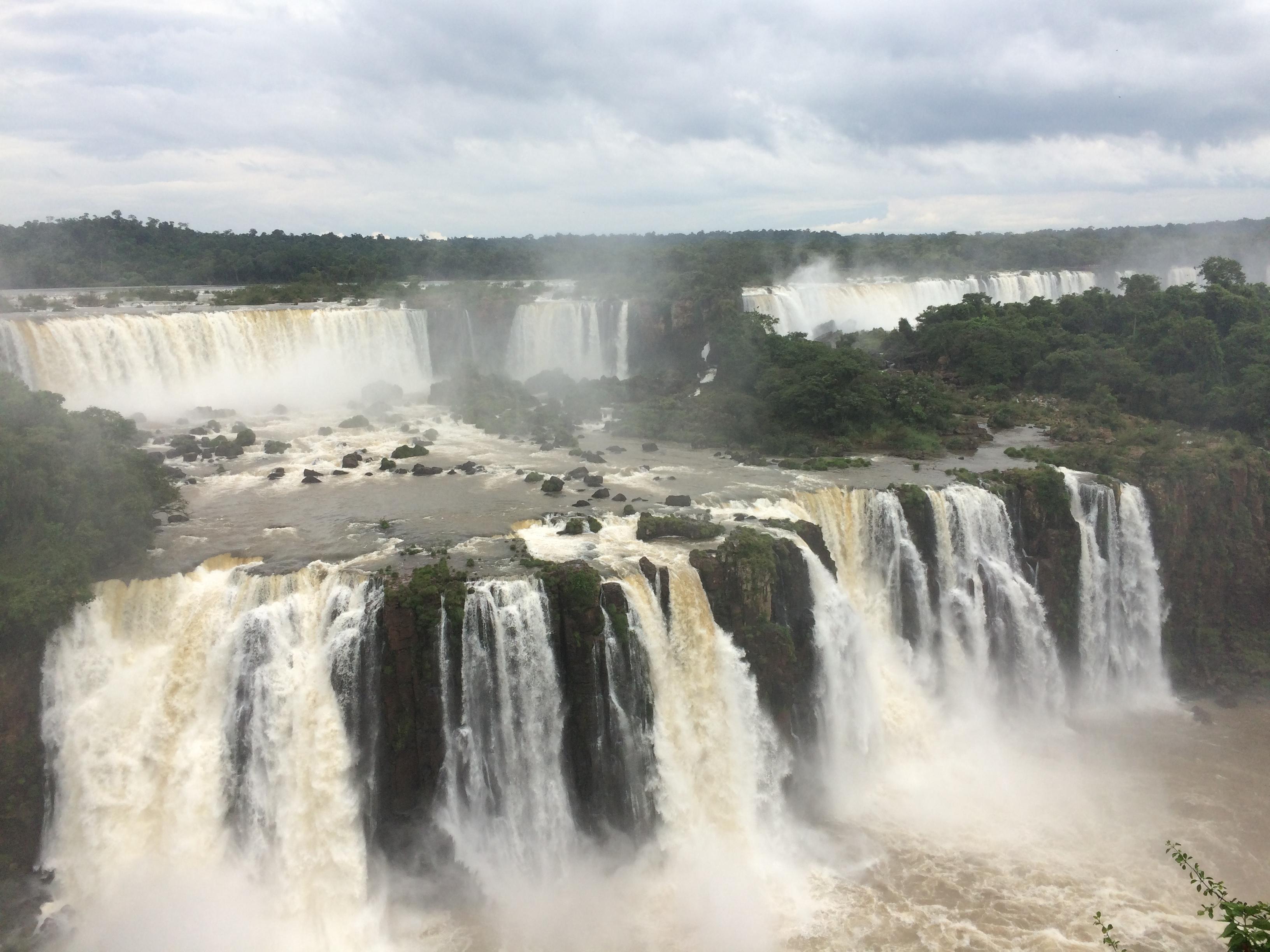 Iguazu falls by Mar Rosati of Testarossa Travel