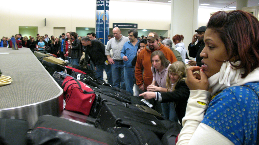 Baggage Carousel Image Credit: Thee Erin on flickr (Creative Commons)