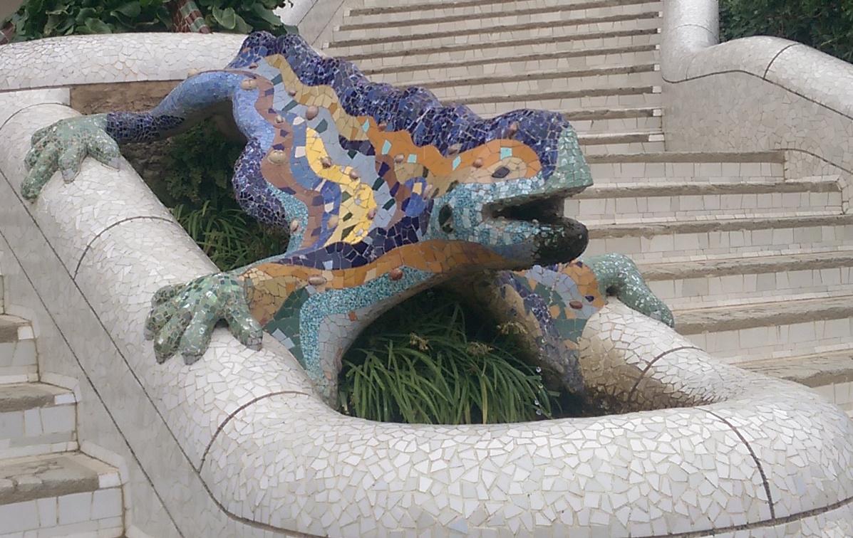 Gaudi's Salamader at Park Guell