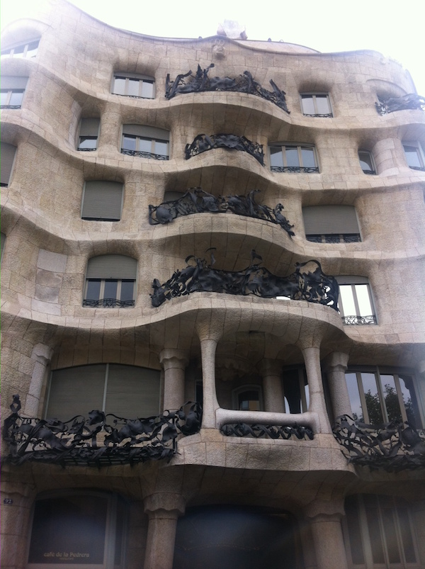 Casa Mila, Gaudi's final architectural work