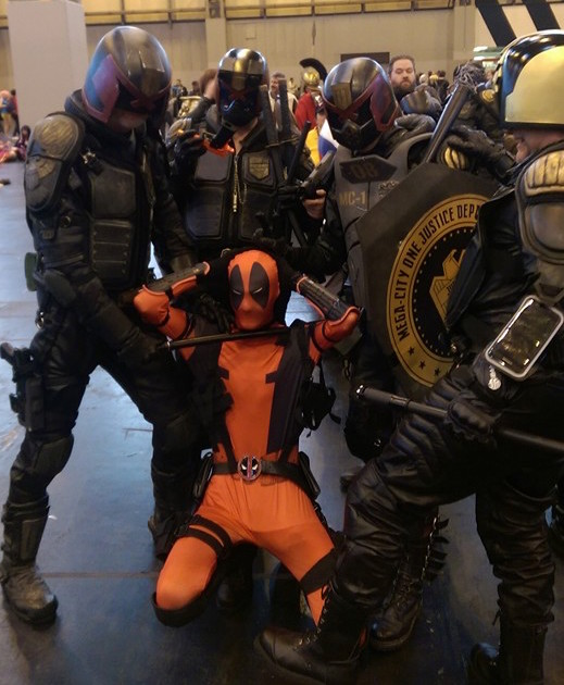 Deadpool MCM Comic Con Birmingham 2015