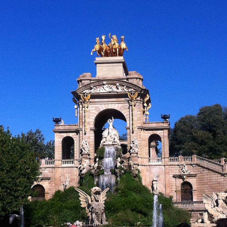 Cascada Fountain Park de la Cuitadella