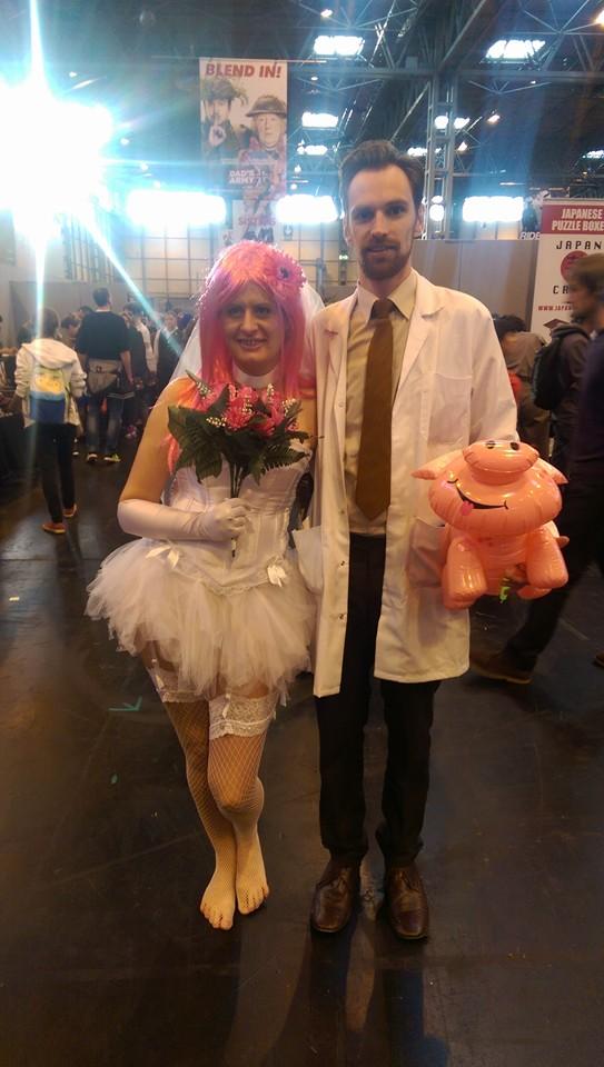 Krueger and Kriegers Virtual Girlfriend Cosplay