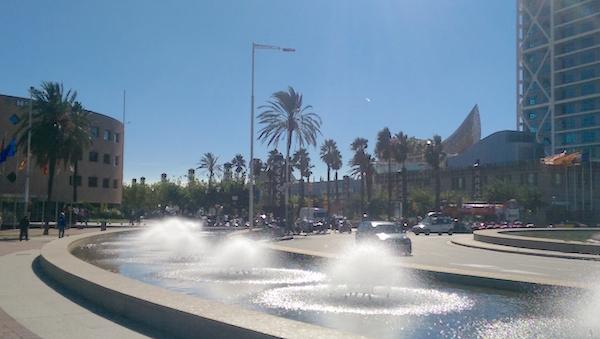 Olympic village Barcelona