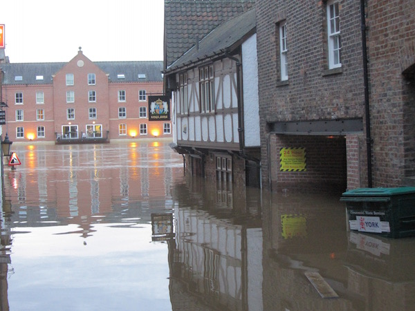 Kings Head York Floods