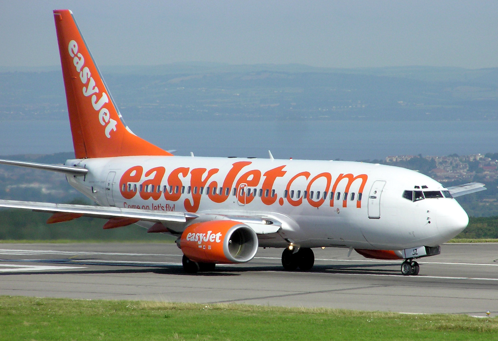 Easy jet Flying to Scandinavia
