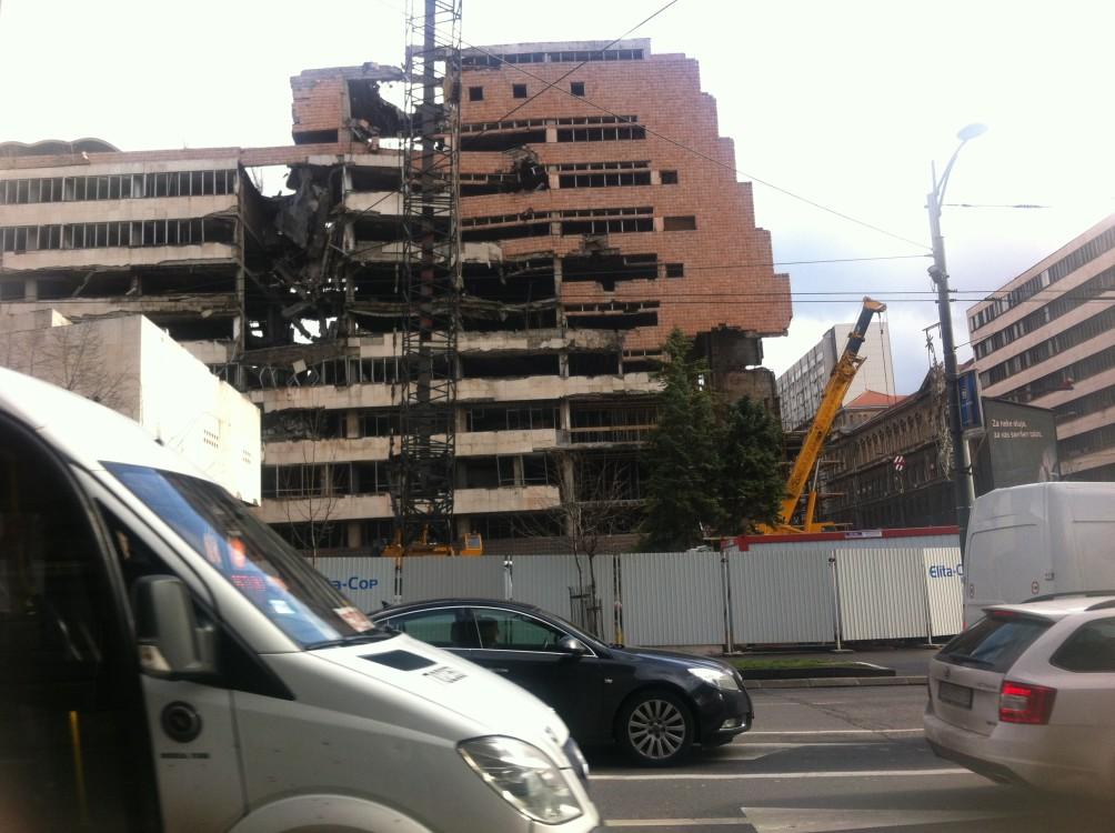 Bombed Hospital Belgrade