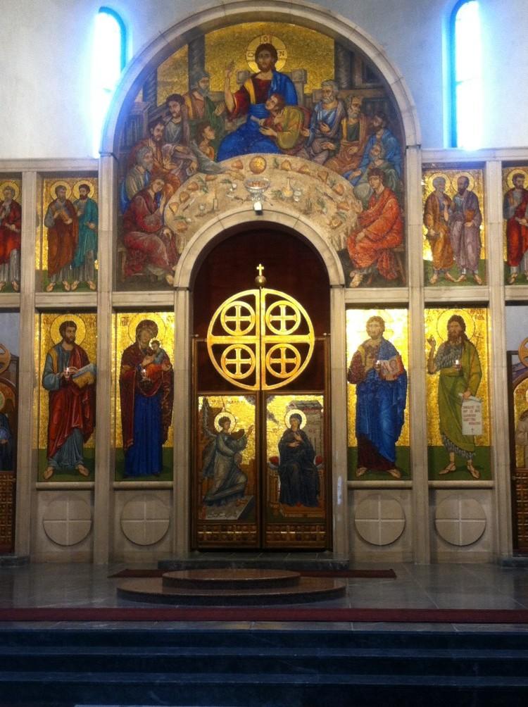 Inside St Marks Church