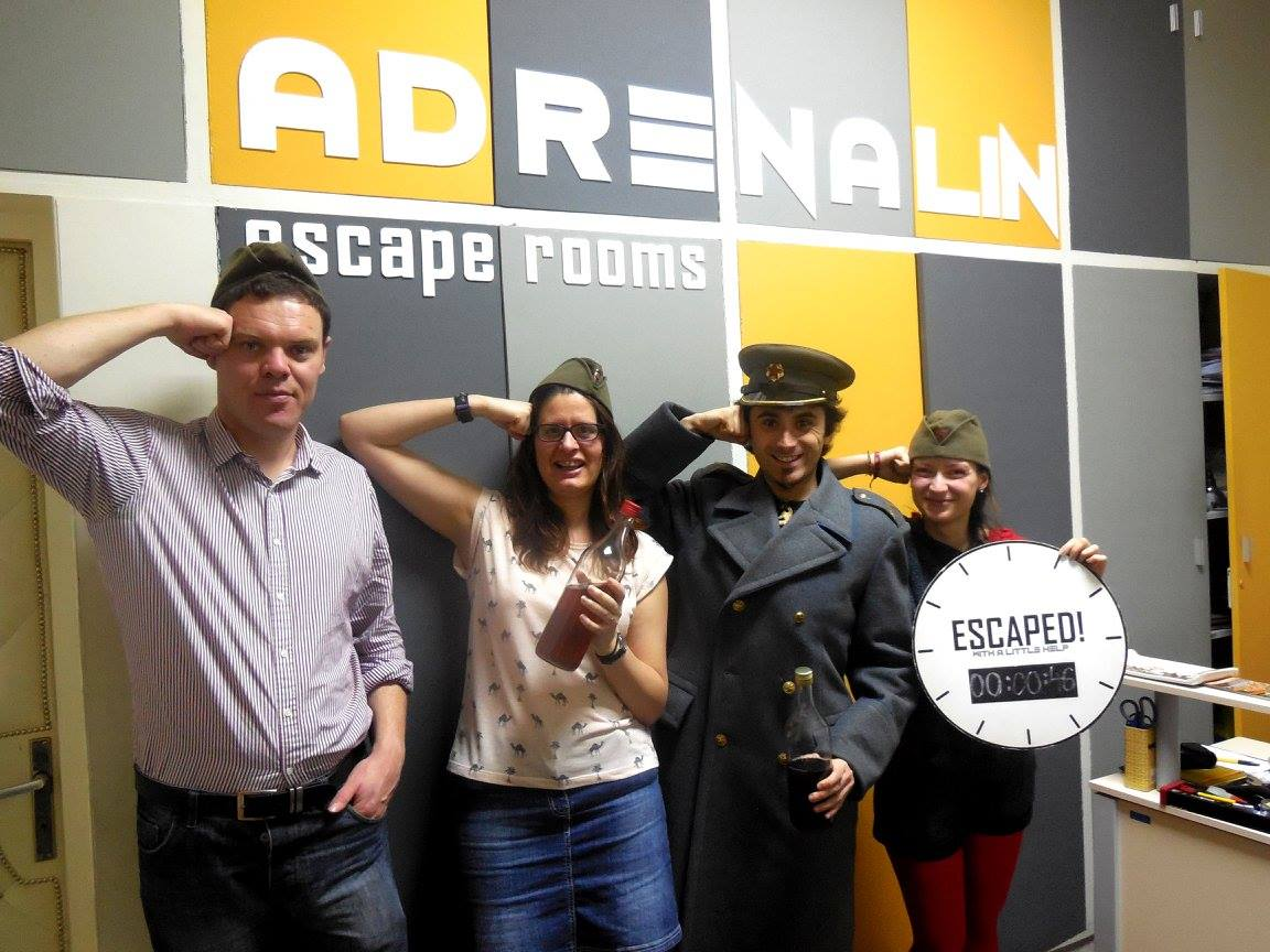 Adrenalin Belgrade Escape Room