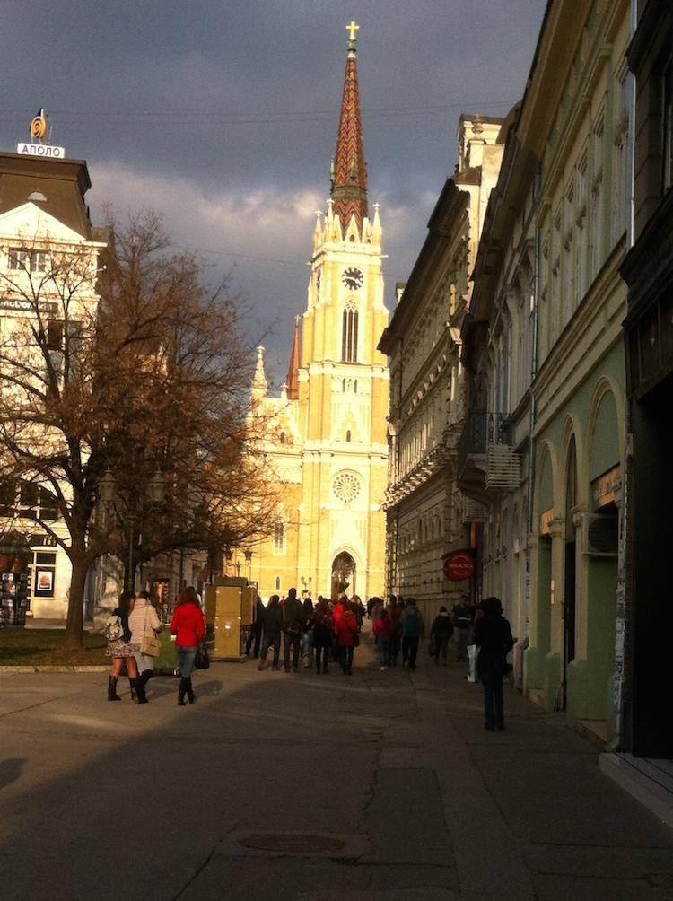 Catholic Church Novi Sad 750