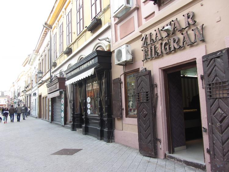 Novi Sad Dunavska Street