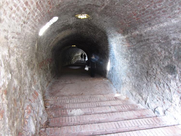 Stairs to Novi Sad Bridge