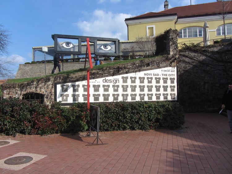 Where to go for the stairs to Novi Sad 750