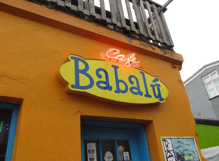 Top cafes in Reykjavik Babalu