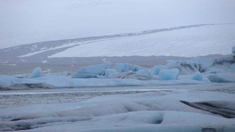 Breiðamerkurjökull glacier, Jökulsárlón Glacier Lagoon, Iceland