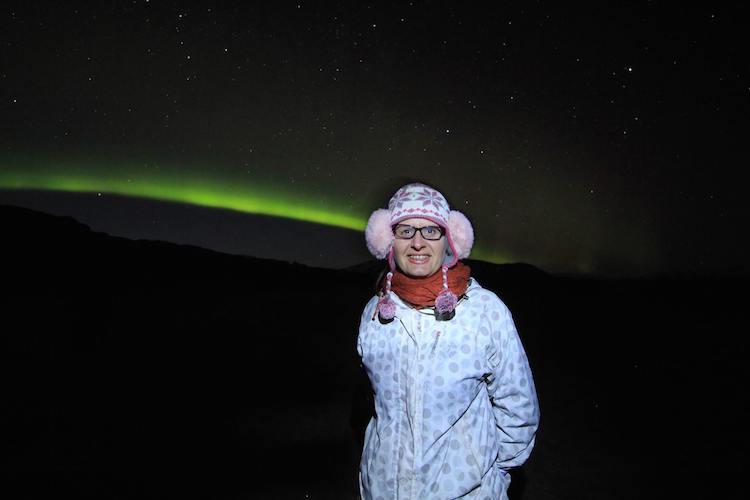 Northern Lights Aurora Borealis in Iceland