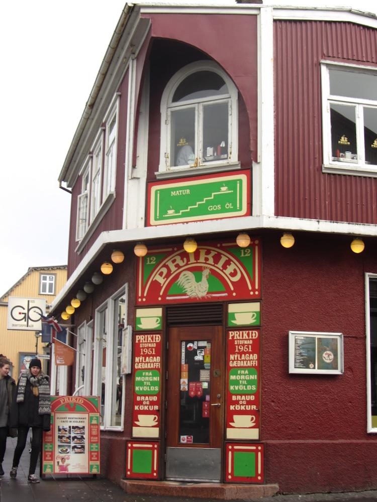 Top Cafes in Reykjavik Prikid