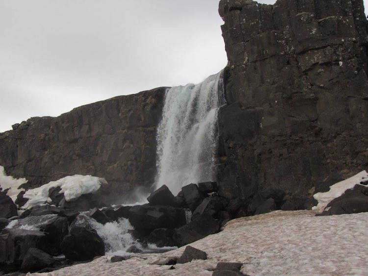 Rift Valley Waterfall Game of Thrones Tour of Iceland