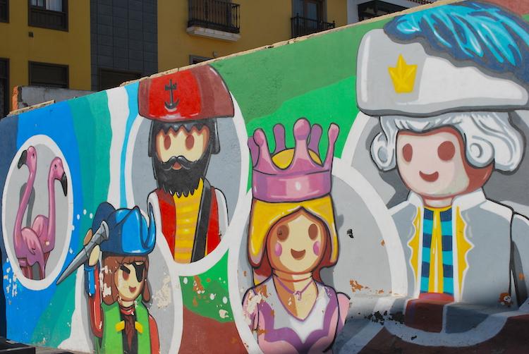 Ro.Ro Puerto de la Cruz street art