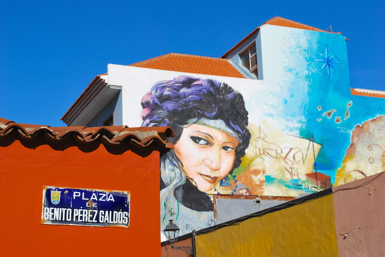 The Boy of Paintings, Puerto de la Cruz
