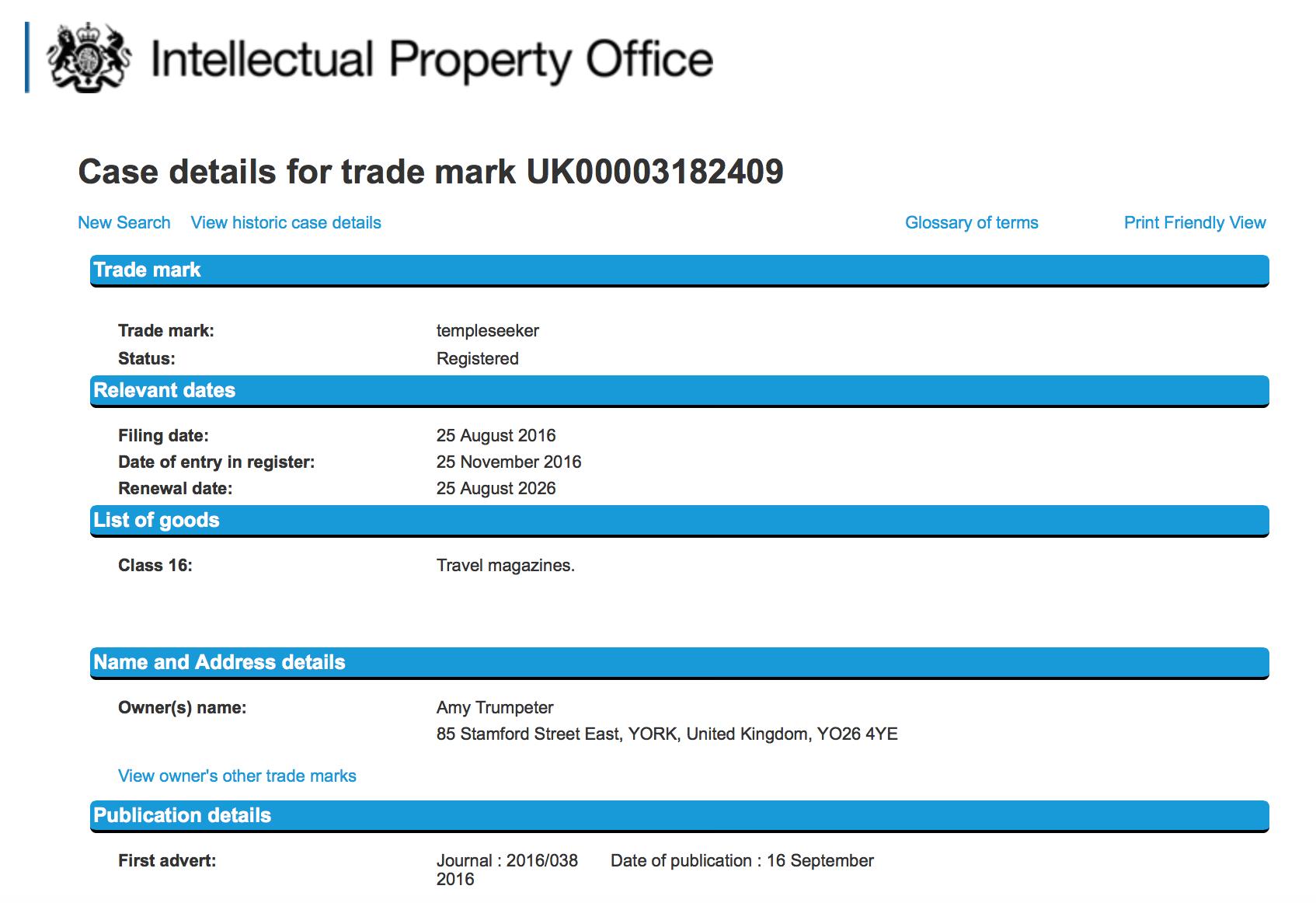 trademark-register