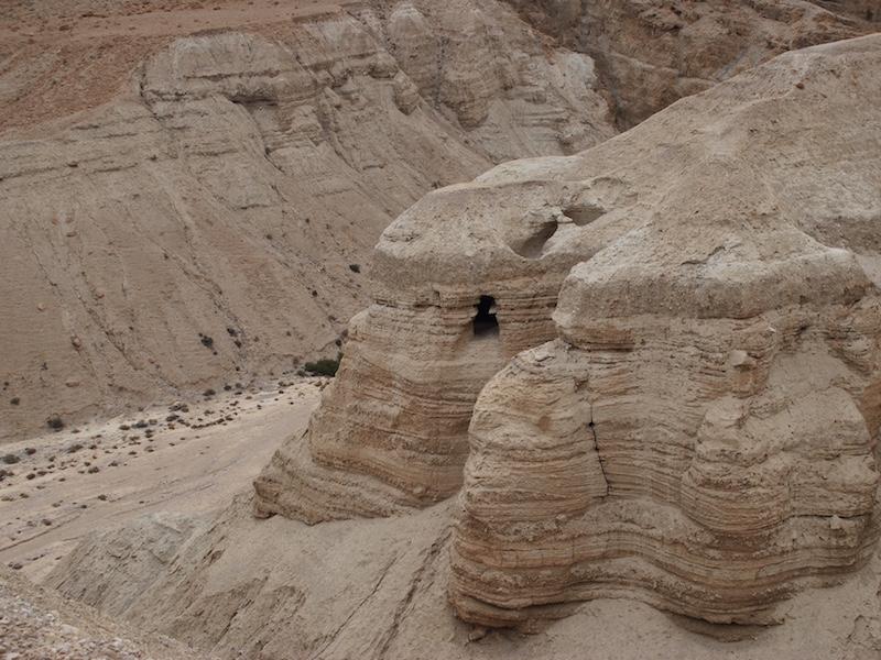 Qumran dead sea scrolls - safety in Israel