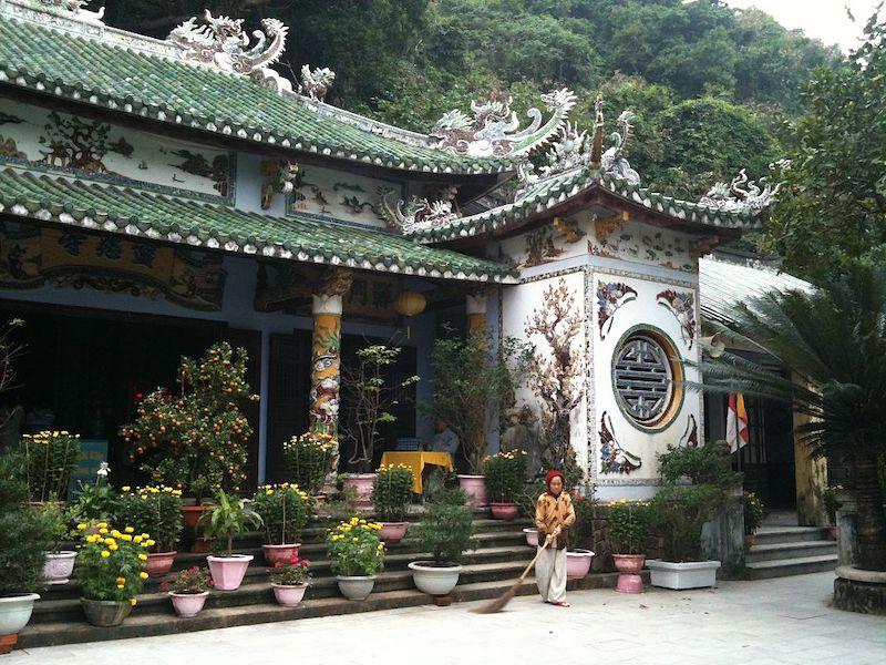 Temple Marble Mountain, Da Nang